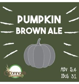 OConnors Home Brew Supply Pumpkin Brown Ale