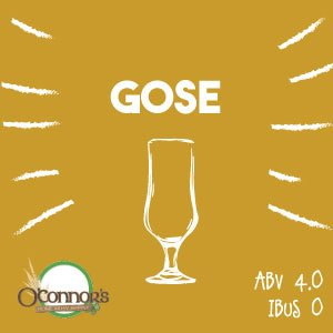 OConnors Home Brew Supply Gose