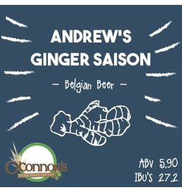 OConnors Home Brew Supply Andrew's Ginger Saison
