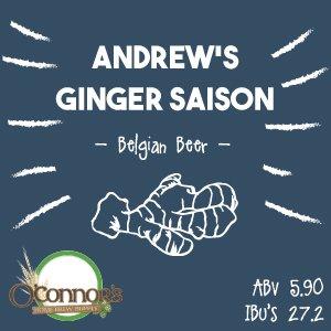 OConnors Home Brew Supply Andrews Ginger Saison