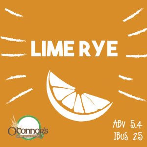 OConnors Home Brew Supply Lime Rye