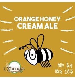 OConnors Home Brew Supply Orange Honey Cream Ale