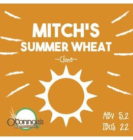 OConnors Home Brew Supply Mitchs Summer Wheat
