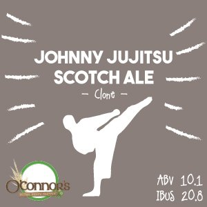 OConnors Home Brew Supply Johnny Jujitsu Scotch Ale