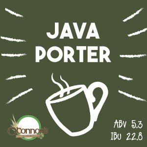 OConnors Home Brew Supply Java Porter