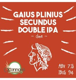 OConnors Home Brew Supply Gaius Plinius Secundus Double IPA