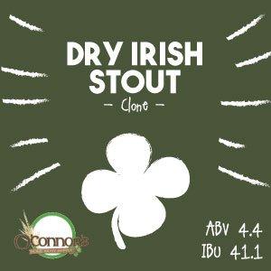 OConnors Home Brew Supply Dry Irish Stout