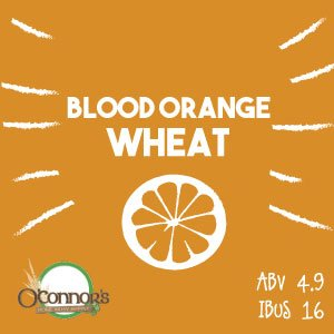OConnors Home Brew Supply Blood Orange Wheat