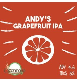 OConnors Home Brew Supply Andy's Grapefruit IPA