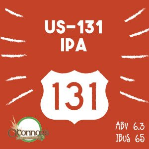 OConnors Home Brew Supply US-131 IPA