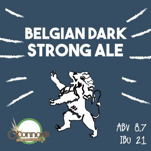 OConnors Home Brew Supply Belgian Dark Strong