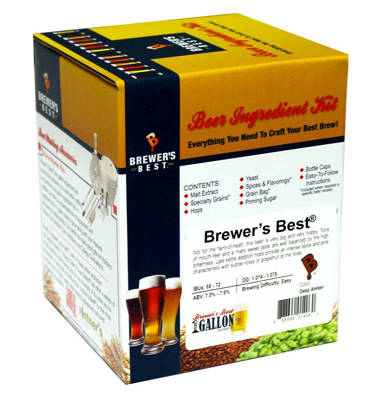 Brewers Best Peanut Butter Brown Ale (Brewer's Best)(1 Gallon)