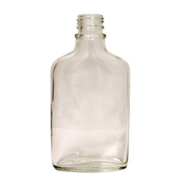 LD Carlson Flint Glass Flask 200 ml Single
