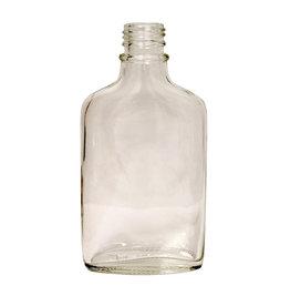 LD Carlson Flint Glass Flask 200 ml Single