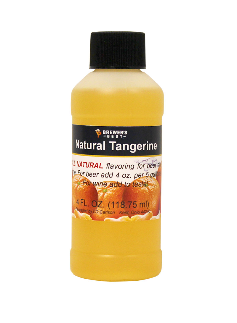 Brewers Best Tangerine Flavoring Extract 4 oz (All Natural)