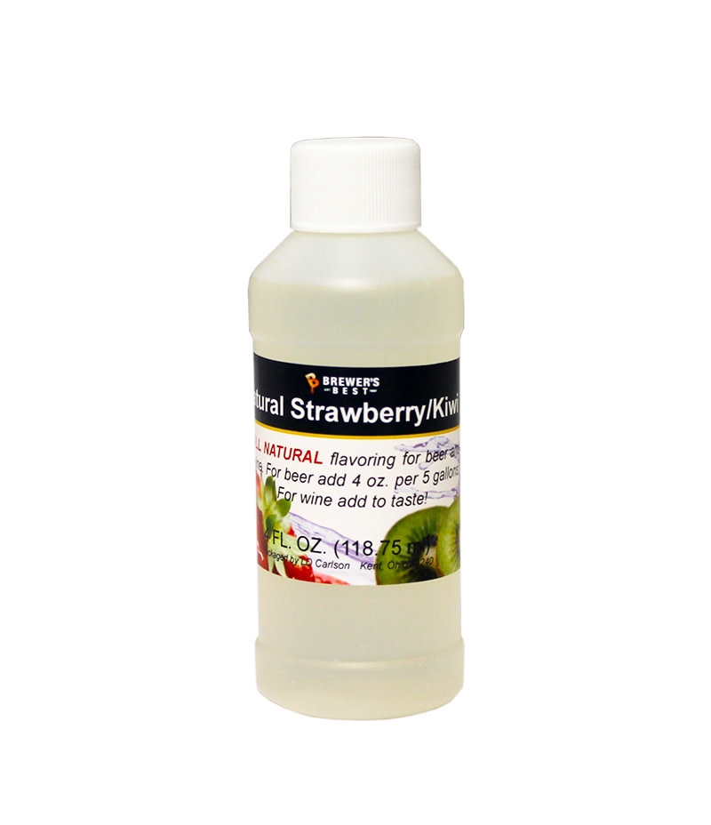 Brewers Best Kiwi Strawberry Flavoring Extract 4 oz (All Natural)