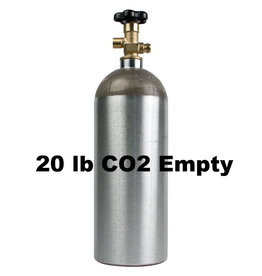 Purity Cylinder Gases CO2 Tank Empty (20 lb)