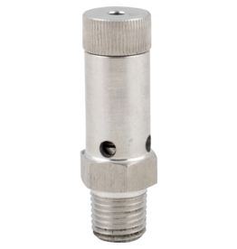 Pressure Relief - Adjustable Stainless 1/4 in. MPT