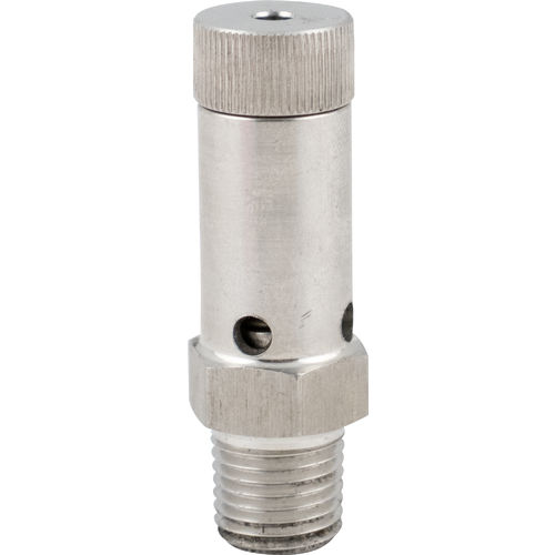 Brewmaster Pressure Relief - Adjustable Stainless 1/4 in. MPT