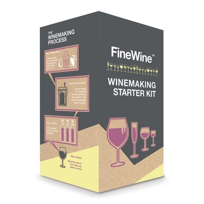 Wine Equipment Deluxe Starter Kit (6 Gallon)(Clearance)