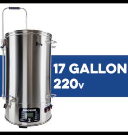 BrewZilla V3.1 All Grain Brewing System With Pump - 65L/17.1G (220V)