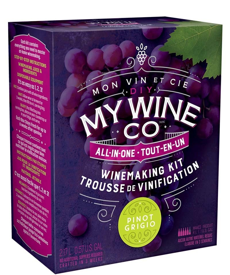 My Wine Co DIY MY WINE CO. PINOT GRIGIO 2.17L WINE KIT