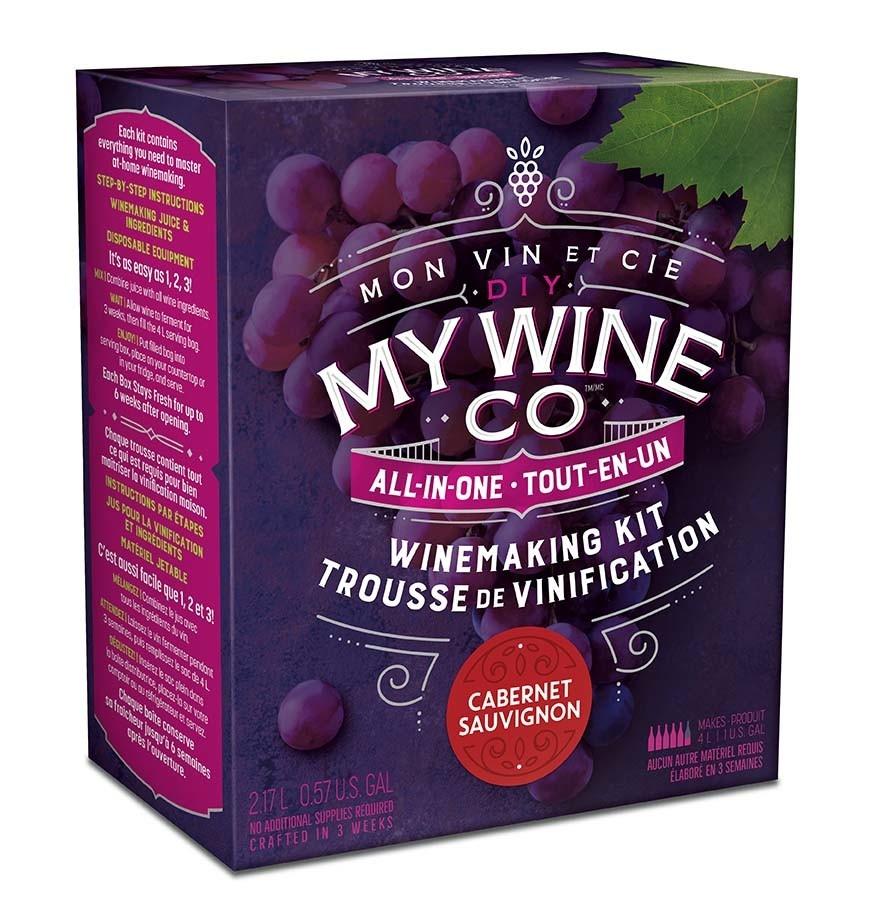 My Wine Co DIY MY WINE CO. CABERNET SAUVIGNON 2.17L WINE KIT