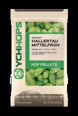 YCH Hops Hallertau Mittelfruh Hop Pellets 1 LB (German)