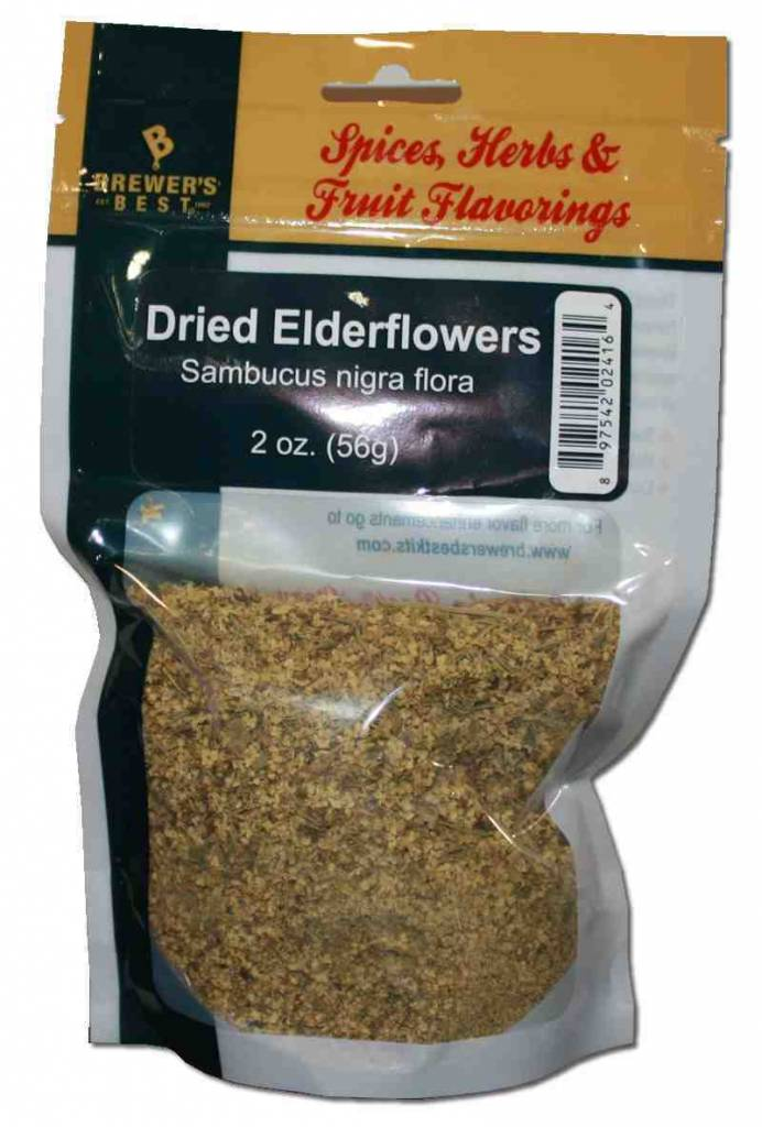 Brewers Best Dried Elder-Flowers 2 oz