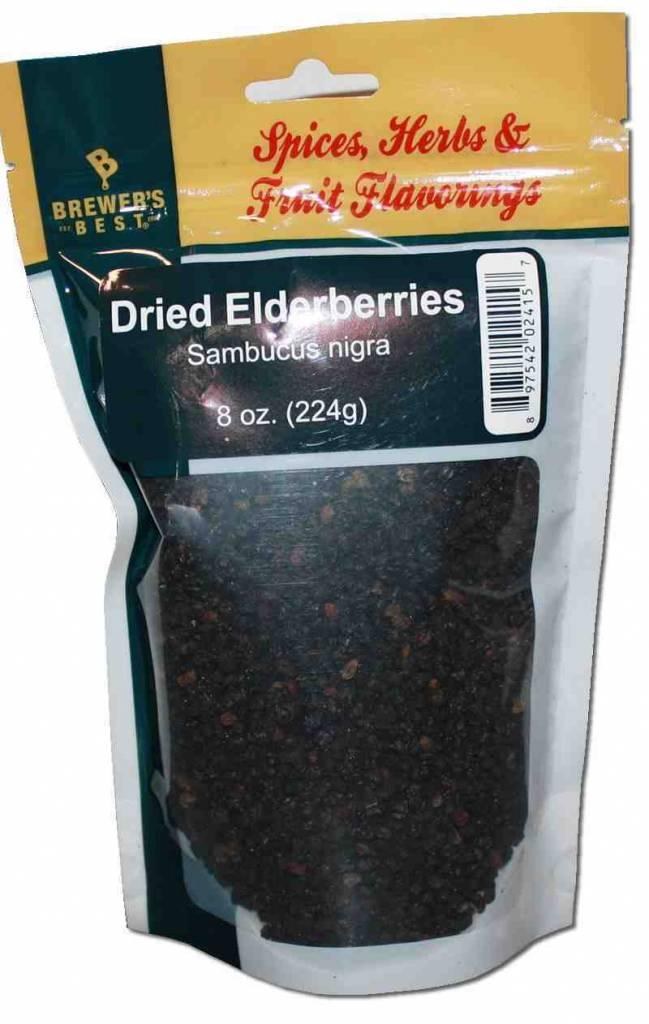 Brewers Best Dried Elder-Berries 8 oz