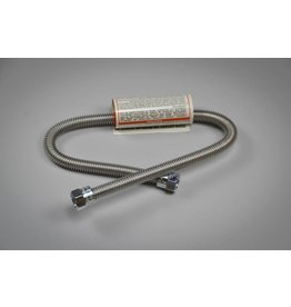 """Blichmann Gas Hose - Stainless Corrugated, 22""""L"""