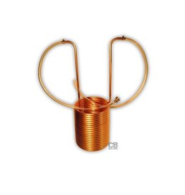 "Coldbreak Brewing Immersion Wort Chiller for Keggle 50' (Copper 1/2"" OD)"