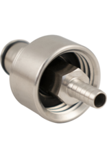 Brewmaster Carbonation and Line Cleaning Ball Lock Cap - Stainless