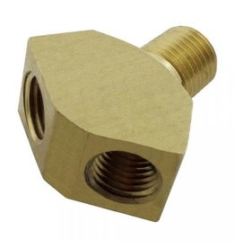 "Foxx Equipment Company Wye Fitting 1/4"" MPT X 1/4"" MFL (Brass)"