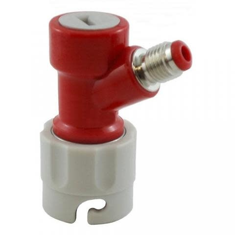 "Foxx Equipment Company Pin Lock Gas Disconnect 1/4"" MFL"