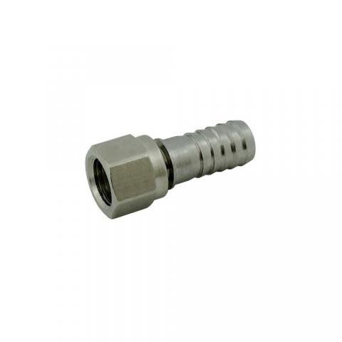 """Foxx Equipment Company Swivel Nut Set 1/4"""" FFL X 3/8"""" Barb"""