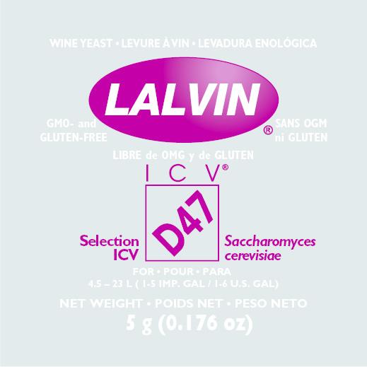 Lalvin Lalvin Wine Yeast (D-47)