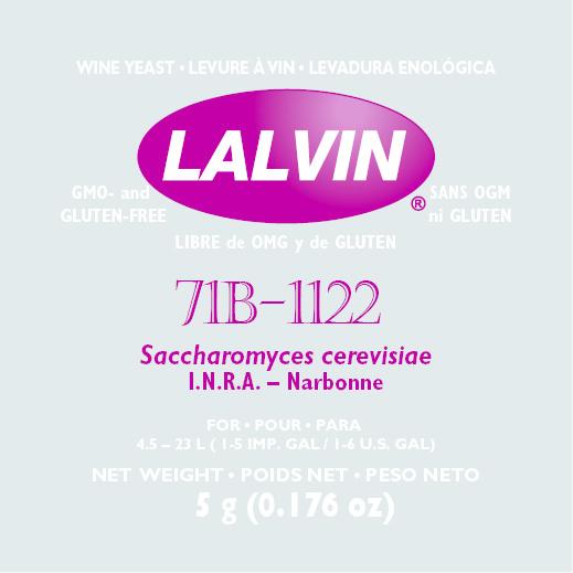 Lalvin Lalvin Wine Yeast (71B-1122)