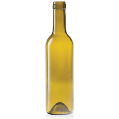 LD Carlson 375 mL Antique Green Semi-Bordeaux Bottles