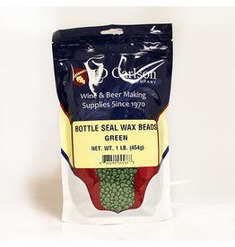 LD Carlson Bottle Seal Wax 1 lb (Green)