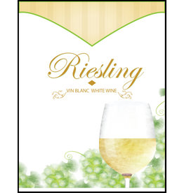 LD Carlson Wine Labels 30 Count (Riesling)