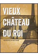 LD Carlson Wine Labels 30 Count (Vieux Chateau Du Roi)