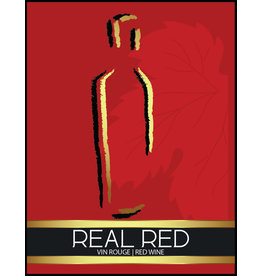 LD Carlson Wine Labels 30 Count (Red)