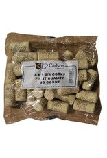 "LD Carlson Wine Corks - Standard (8 mm x 1.75"") 30 Count"