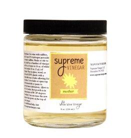 Supreme Vinegar White Wine Mother of Vinegar 8 oz