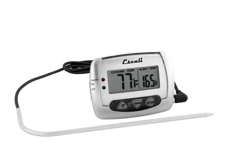 Digital Thermometer W/Probe (Escali)