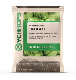 YCH Hops Bravo Hop Pellets 1 OZ (US)