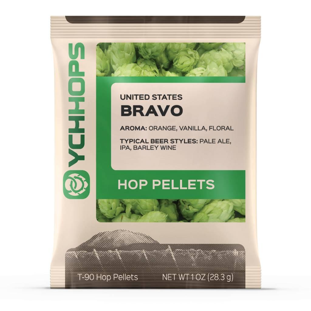 YCH Hops Bravo Hop Pellets 1 OZ (US)