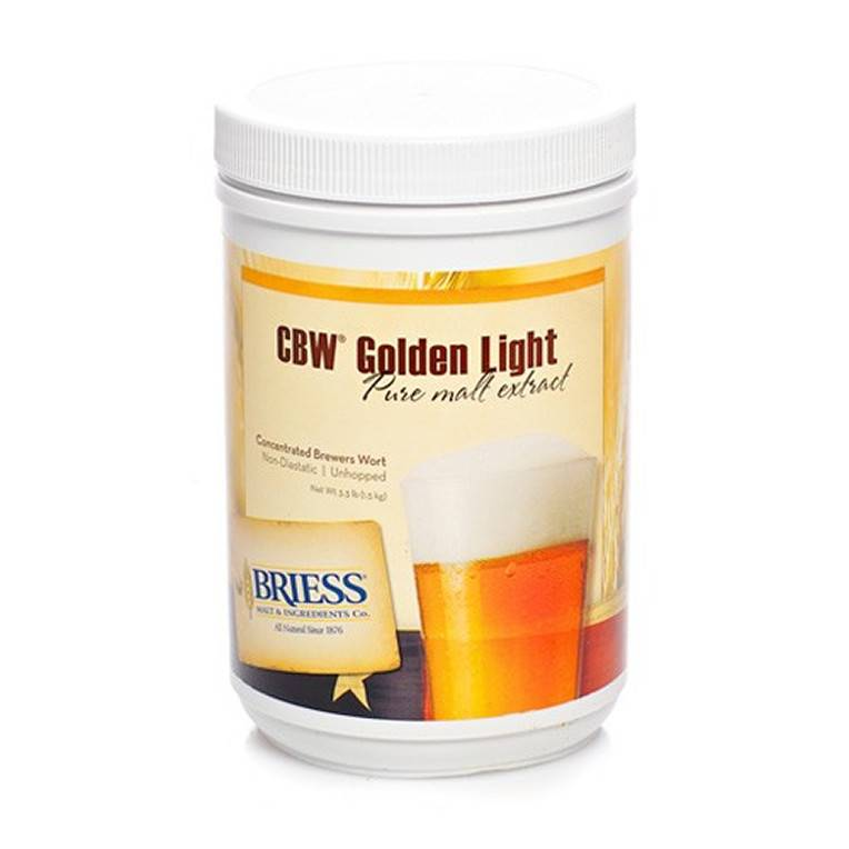 Briess Golden Light LME 3.3 lb (Briess)