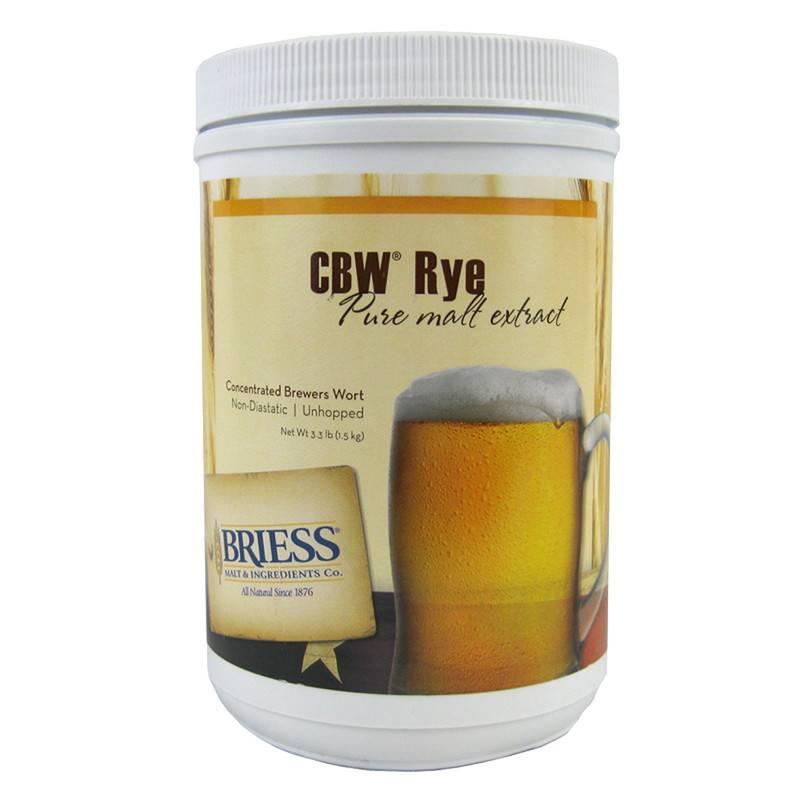 Briess Rye LME 3.3 lb (Briess)
